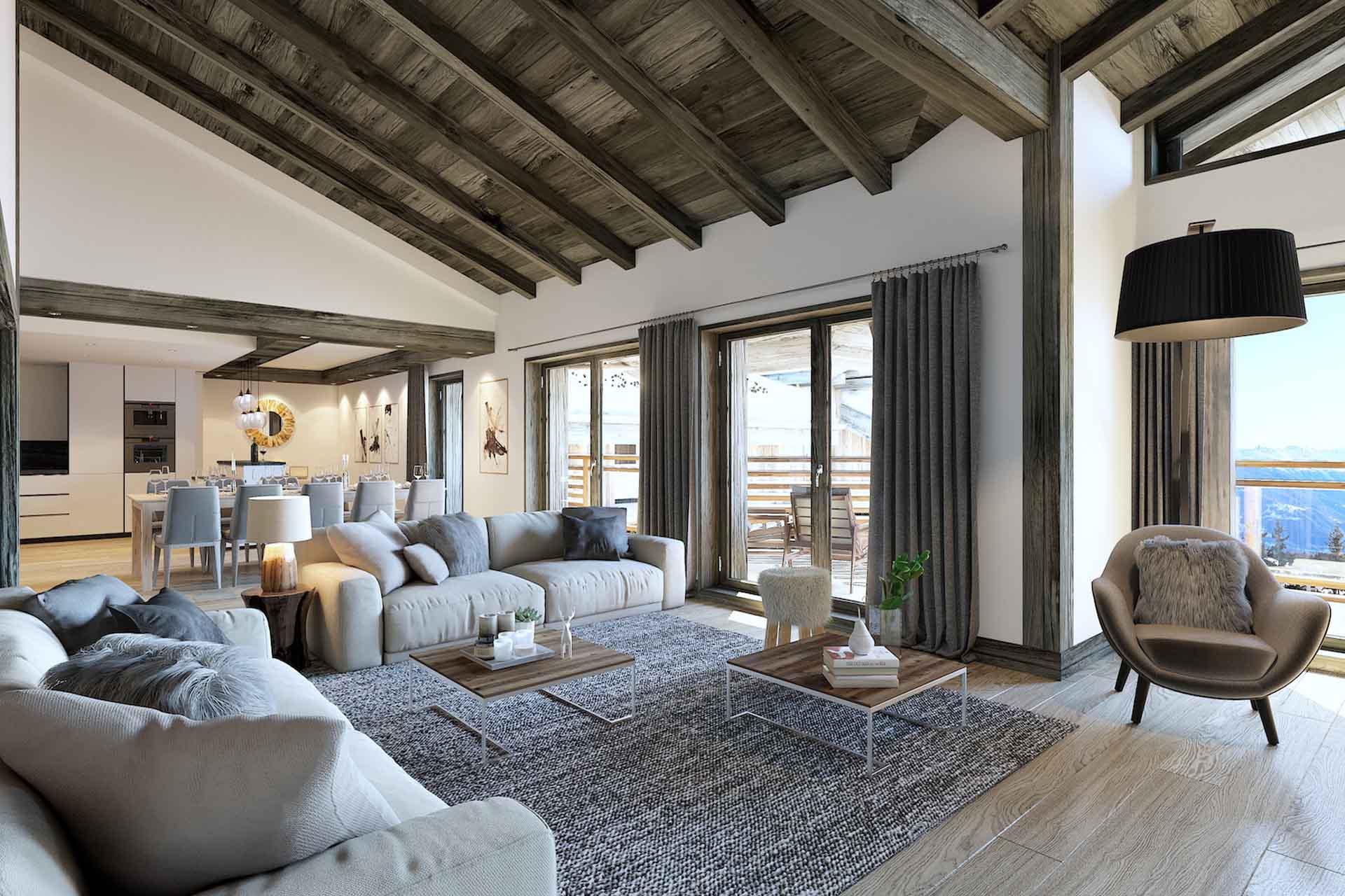 Appt 1 eagle lodge tignes les brevieres free spirit alpine - Appartement de luxe ando studio ...