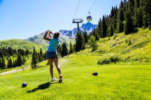 Meribel Courchevel Golf Summer