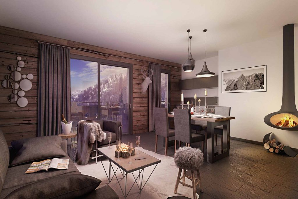 New Morzine apartment for sale