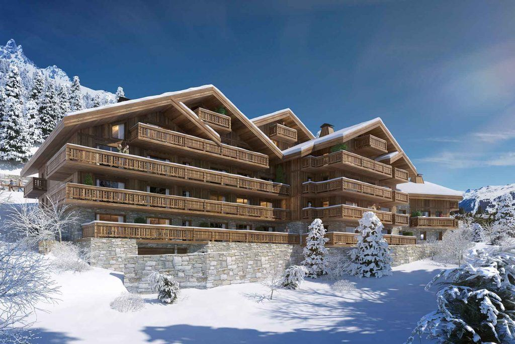 New apartment development in Meribel for sale