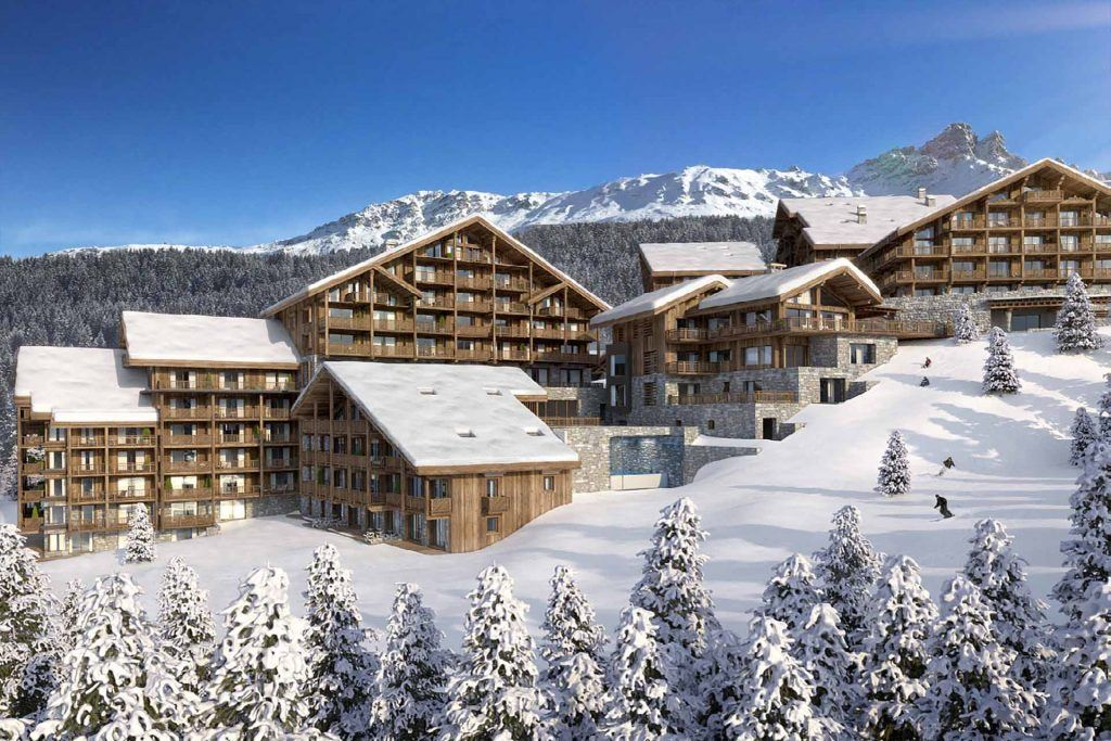 l'Antares development Meribel