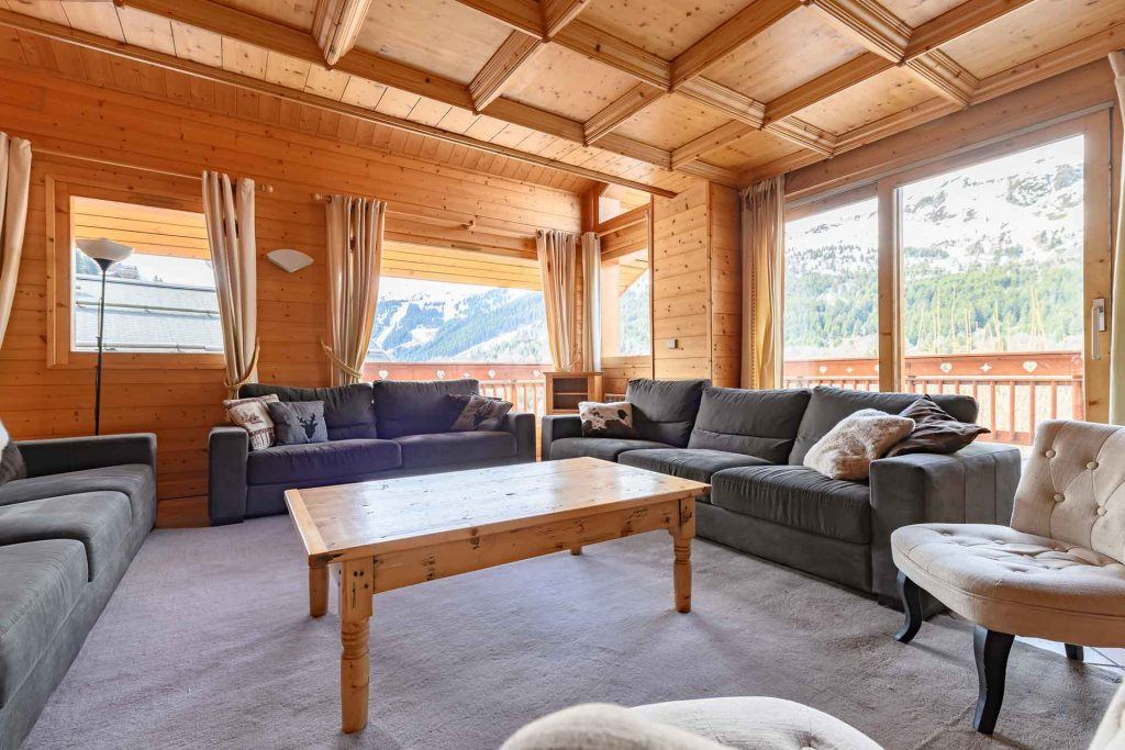 six bedroom chalet sale meribel
