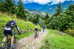 mountain biking vtt