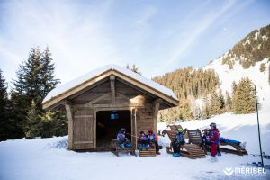 Picnic hut meribel