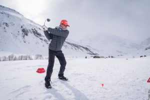 bmw snow golf